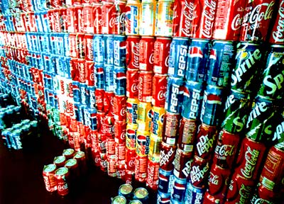 Recycle Pop Cans